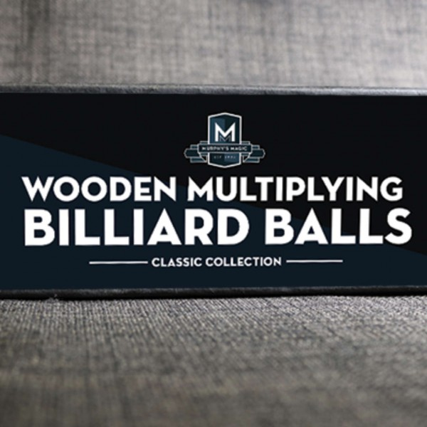 Wooden Multiplying Billiard Balls - Weiß 2