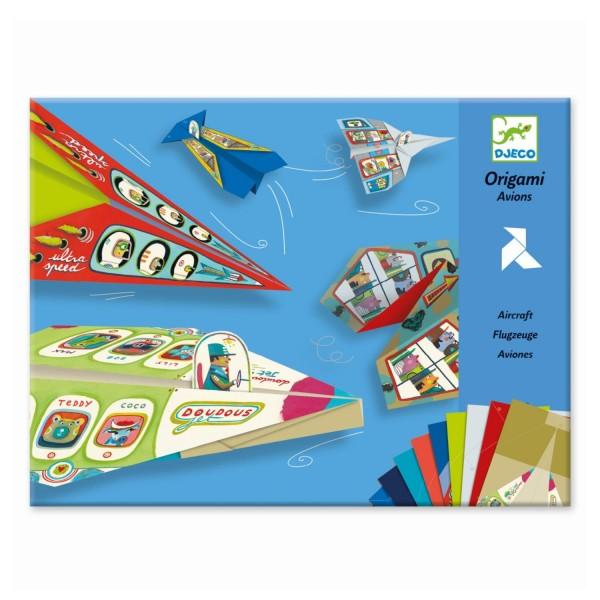 Origami Flugzeuge Papierflieger