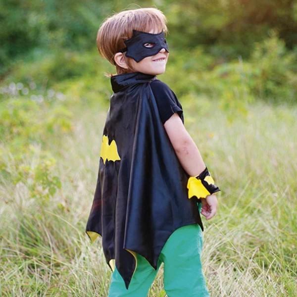 Batman Cape/Maske/Manschetten 3/4 Jahre