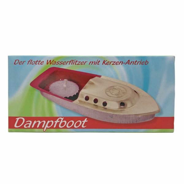 Kerzenboot Dampfboot