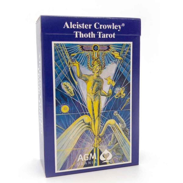 Original Aleister Crowley Thoth Tarot Gold