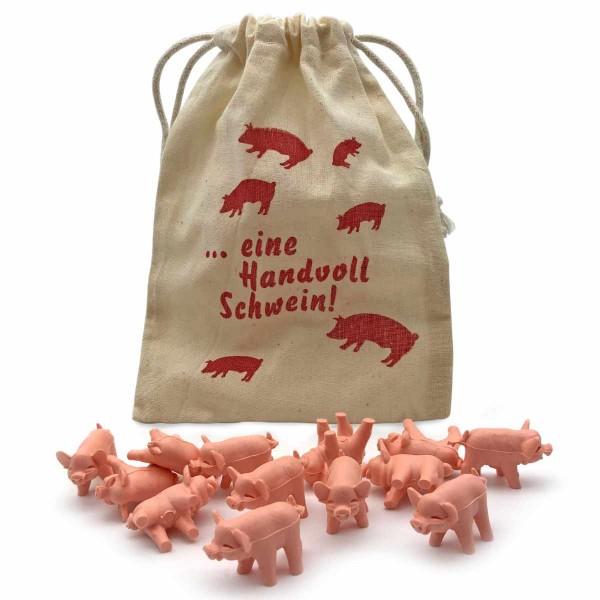 Eine Handvoll Schwein