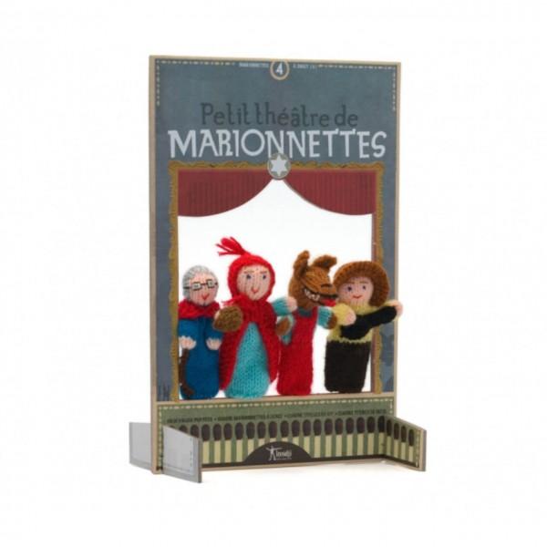 Fingerpuppentheater Rotkäppchen