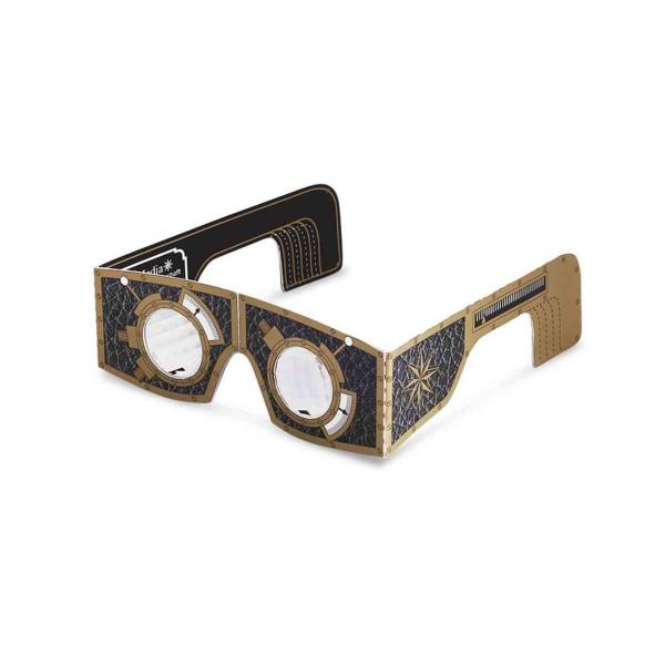 Facettenaugen-Brille Bastelset