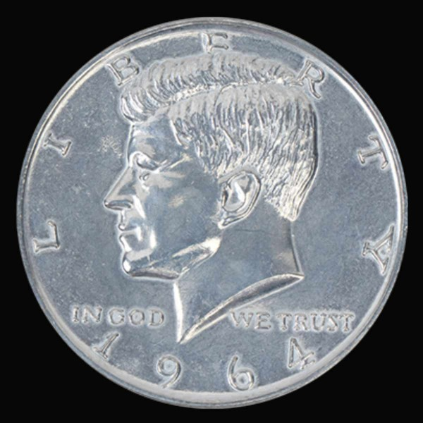 Jumbo 3 inch Halbdollar