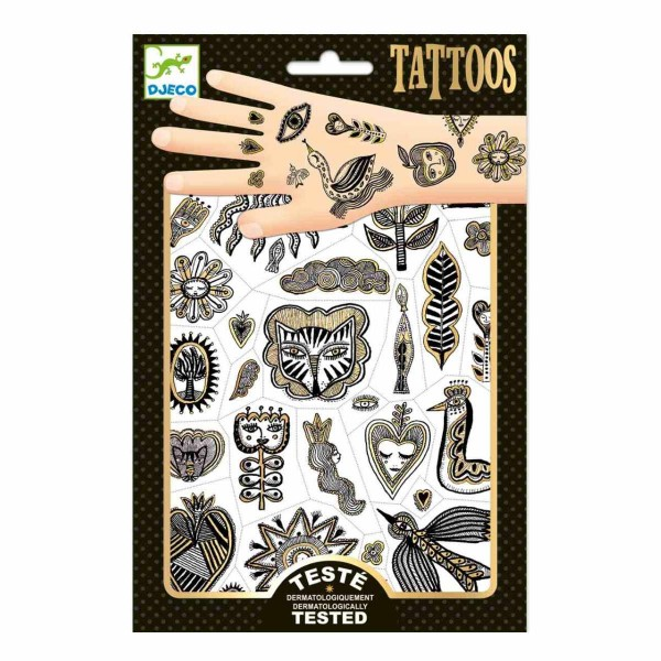 Tattoos Golden Chic