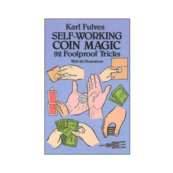 Self Working Coin Magic - Book
