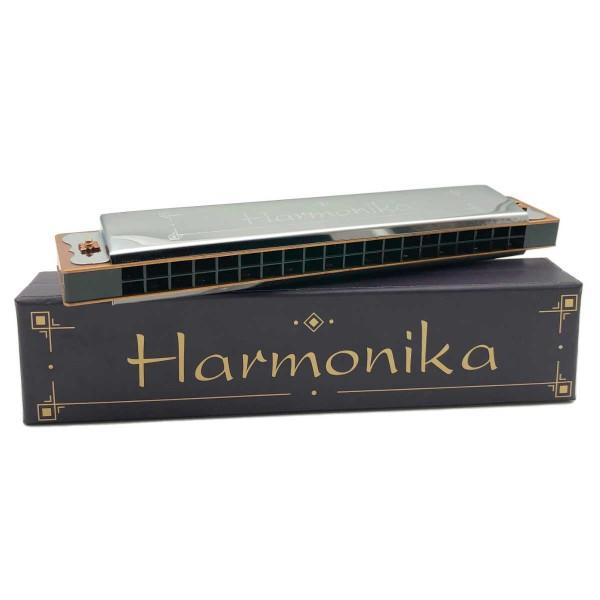 Mundharmonika mit 20 Tönen