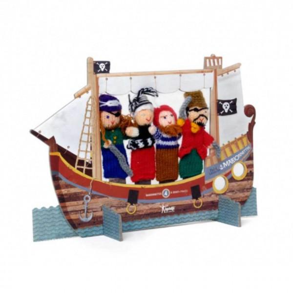 Fingerpuppentheater Piraten