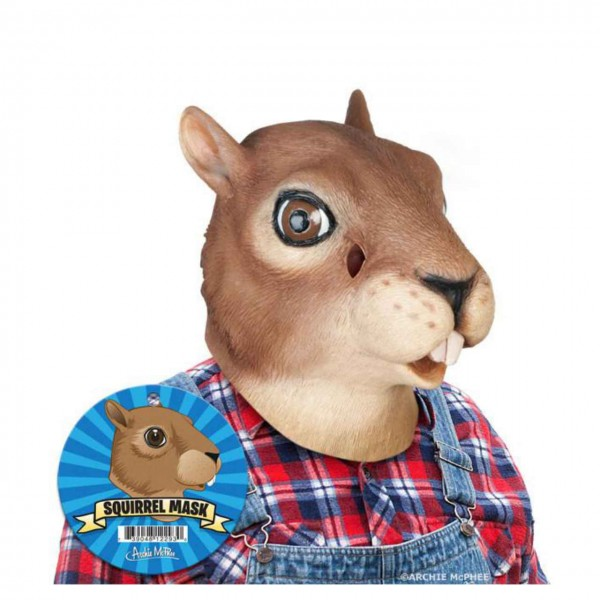 Squirrel Latexmaske
