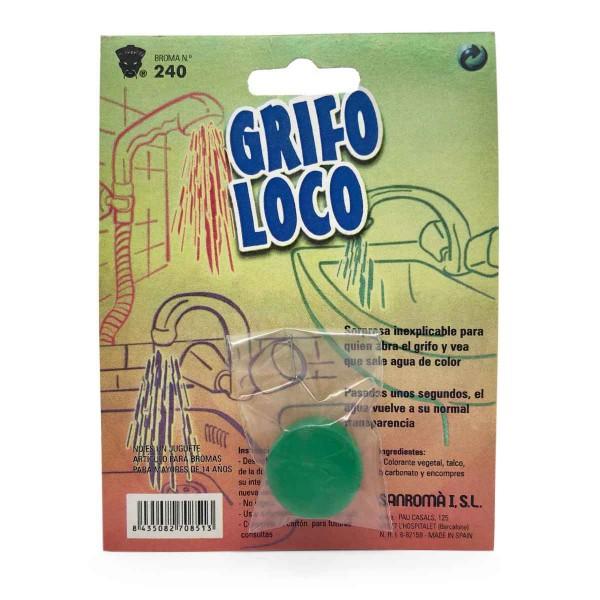 Färbendes Wasser Grifo Loco