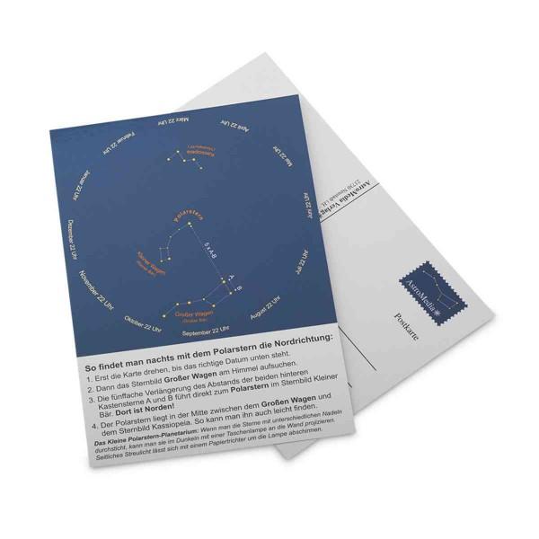 Postkarte Polarsternfinder