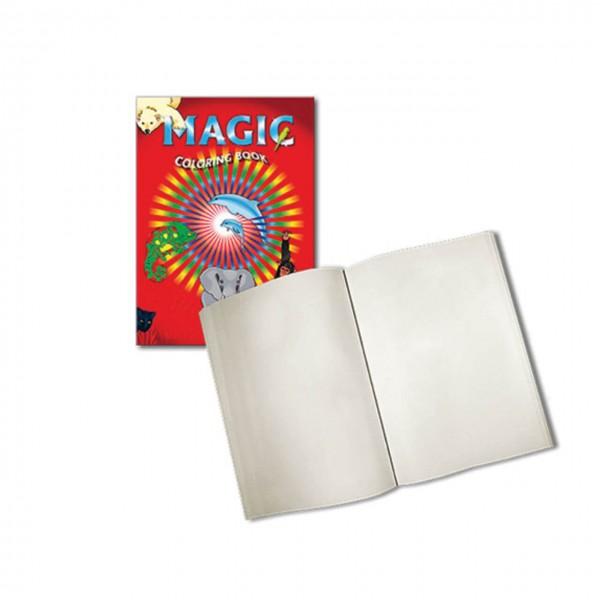 Magic Coloring Book Blanko