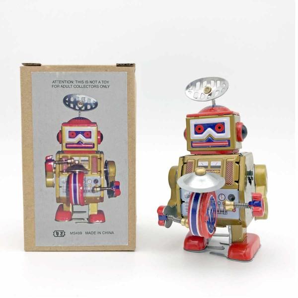 Roboter Gold Trommel