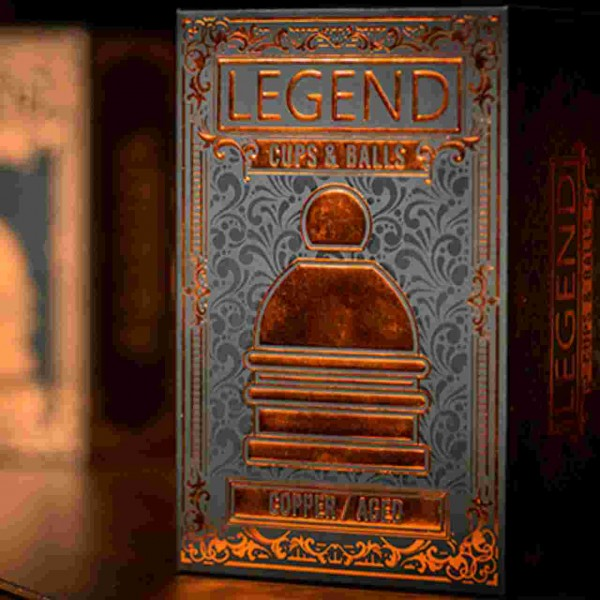 LEGEND Cups ans Balls (Copper/Aged)