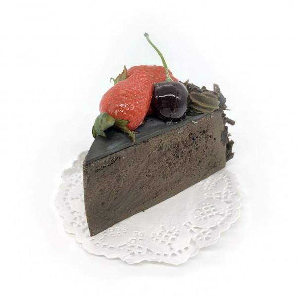 Schoko Kuchen Atrappe