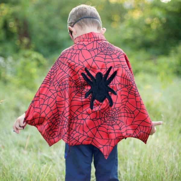 Spiderman Cape/Maske/Manschetten 3/4 Jahre