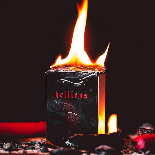 Red Hellions Deck - Black Tuck