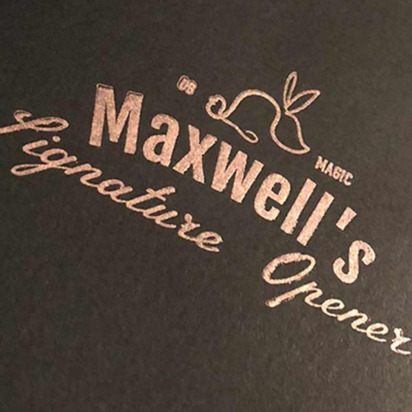 Maxwells Signature Opener