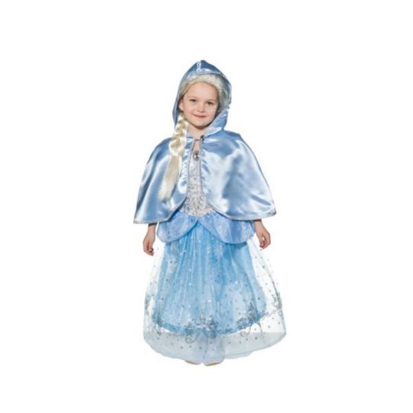 Umhang mit Kapuze Blau gr. 104 / 116