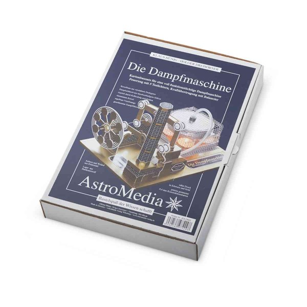 Dampfmaschine - Kartonbausatz