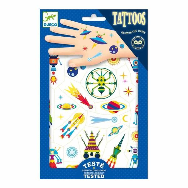 Tattoos Weltraum