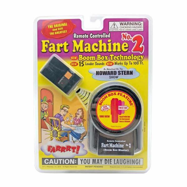 Fart Machine No. 2 Pupsmaschine mit Fernbedienung