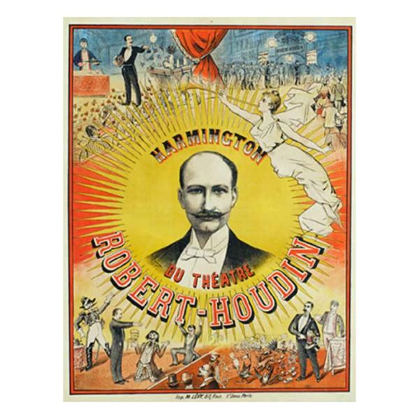 Poster Robert Houdin Theatre