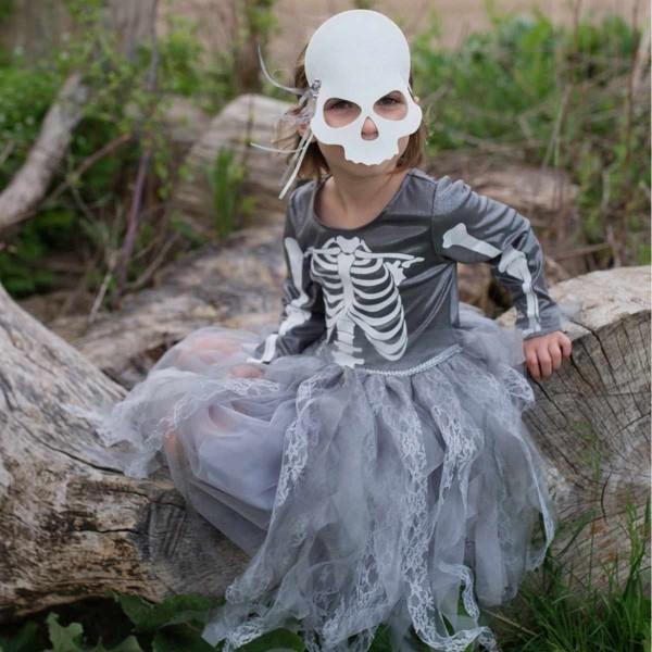 Halloween Skelettkleid 7/8 Jahre