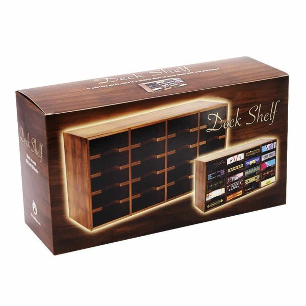Deck Shelf - Kartenaufbewahrungsbox aus Holz