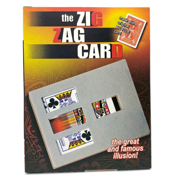 The Zig Zag Card - Bicycle
