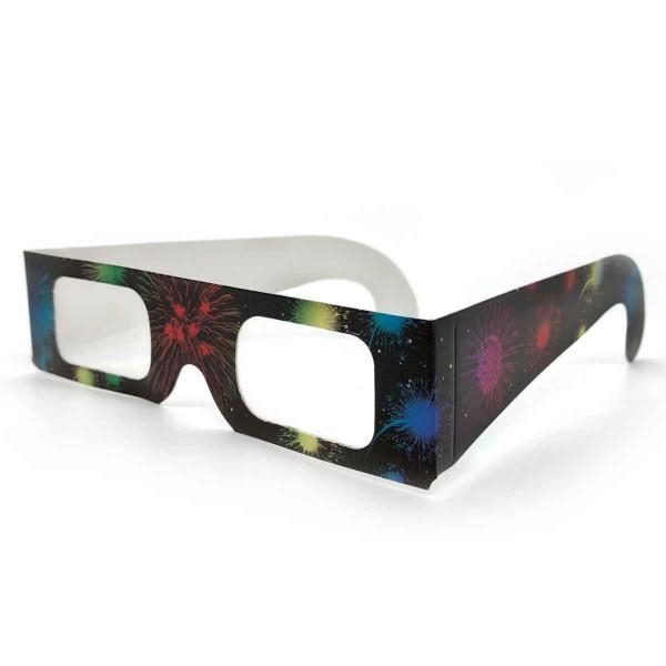 Regenbogen-Brille Feuerwerk