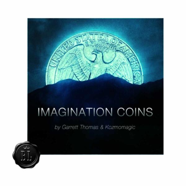 Imagination Coins US Quater by Garrett Thomas & Kozmomagic