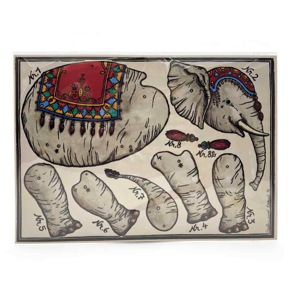 Batselbogen Der Hampel - Elefant