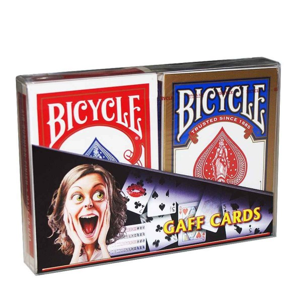 Bicycle Gaff Cards Blau