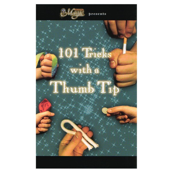 101 Tricks with a Thumb Tip Buch