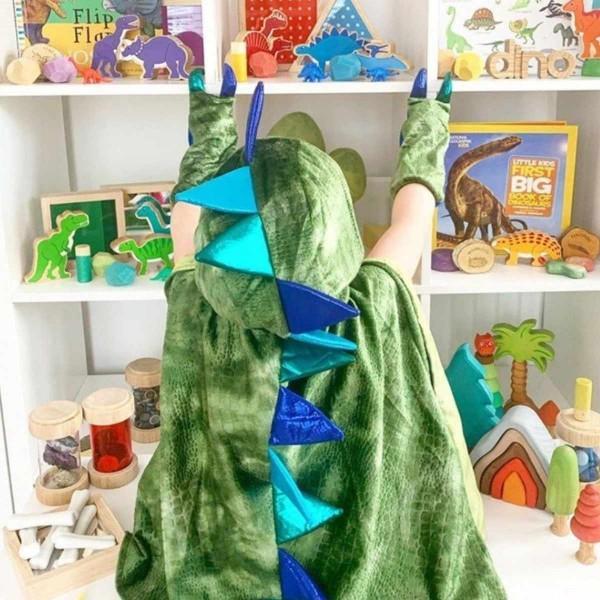 Drachen Cape grün 5/6 Jahre