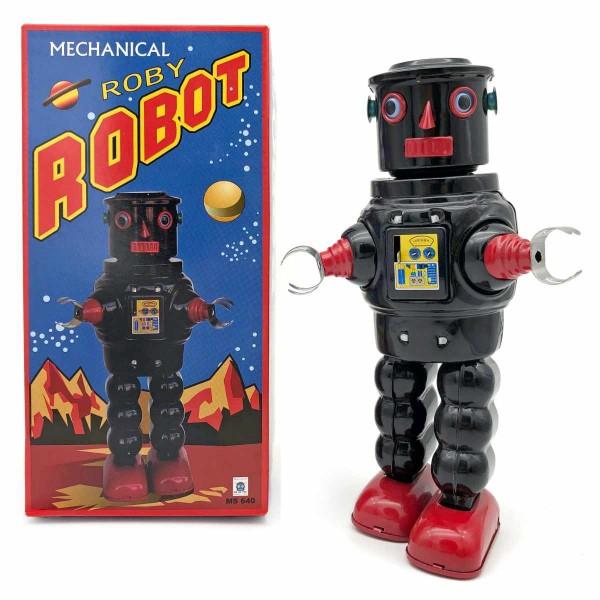 Roby Robot - schwarz