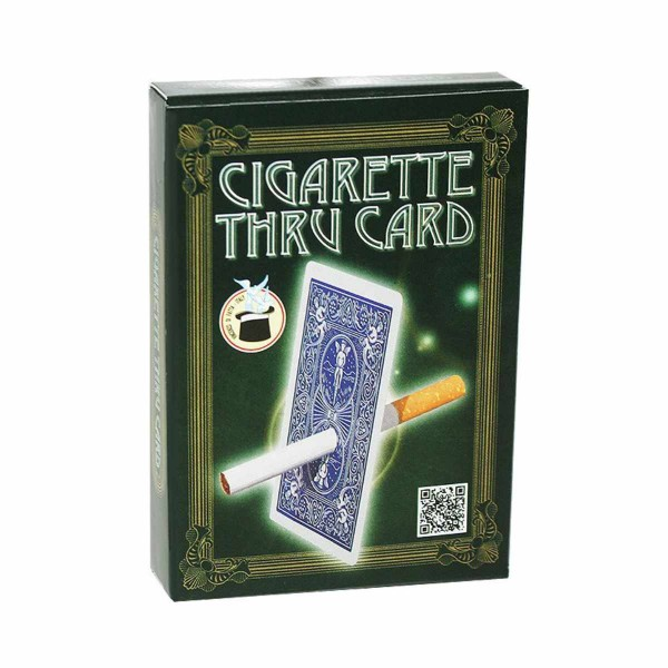 Cigarette Thru Card