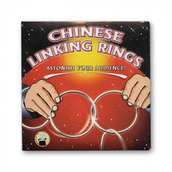 Cinese Linking Rings 4er Set 14cm