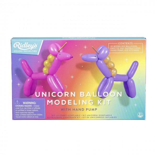 Einhorn Modellierballon Kit