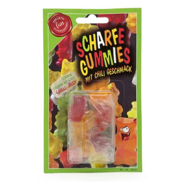 Scharfe Gummis