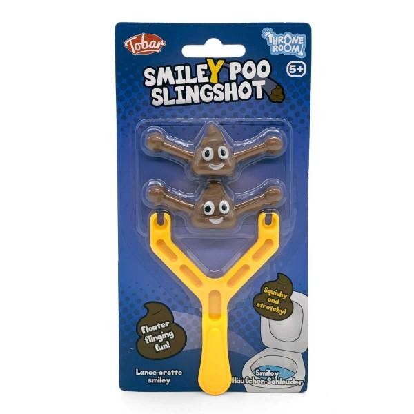 Smiley Poo Slingshot