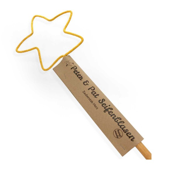 Seifenblasenstab Stern